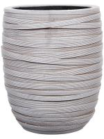 Кашпо Capi nature vase elegant high iii loop ivory D18 H21 см 6CAPNV026