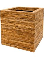 Кашпо Rattanplanter kubis natural L56 W56 H56 см 6RAT39036