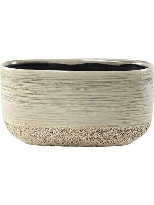Кашпо Issa planter light grey L25 W13 H13 см 6PTR59008