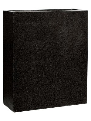 Кашпо Capi lux planter envelope ii black L88 W36 H100 см 6CAPLT972
