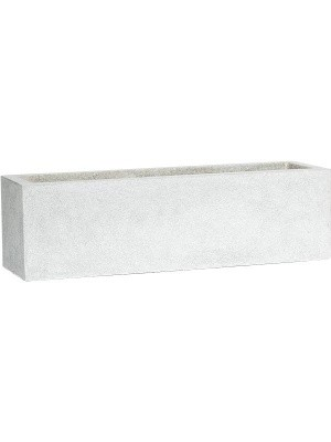 Кашпо Capi lux planter rectangle ii light grey L88 W28 H28 см 6CAPLG962