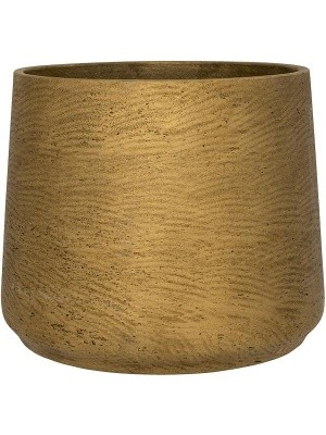 Кашпо Rough patt xxxl metallic gold D45 H38 см 6PPNEP500