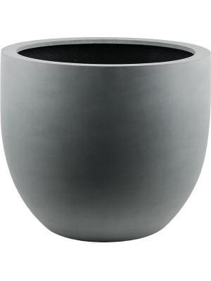 Кашпо Argento egg pot natural grey D45 H38 см 6DLIA1108