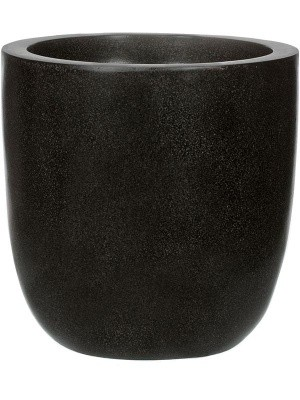 Кашпо Capi lux egg planter ii black D43 H41 см 6CAPLT933