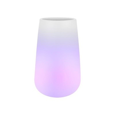 Светящееся кашпо Pure cone smart led light transparent D49 H79 см 6PURGM550
