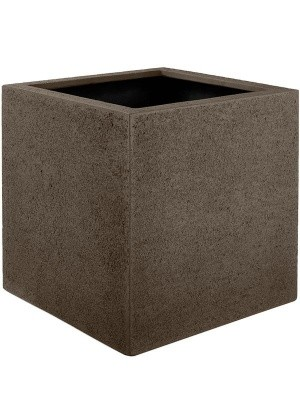 Кашпо Struttura cube light brown L50 W50 H50 см 6DLIAF005